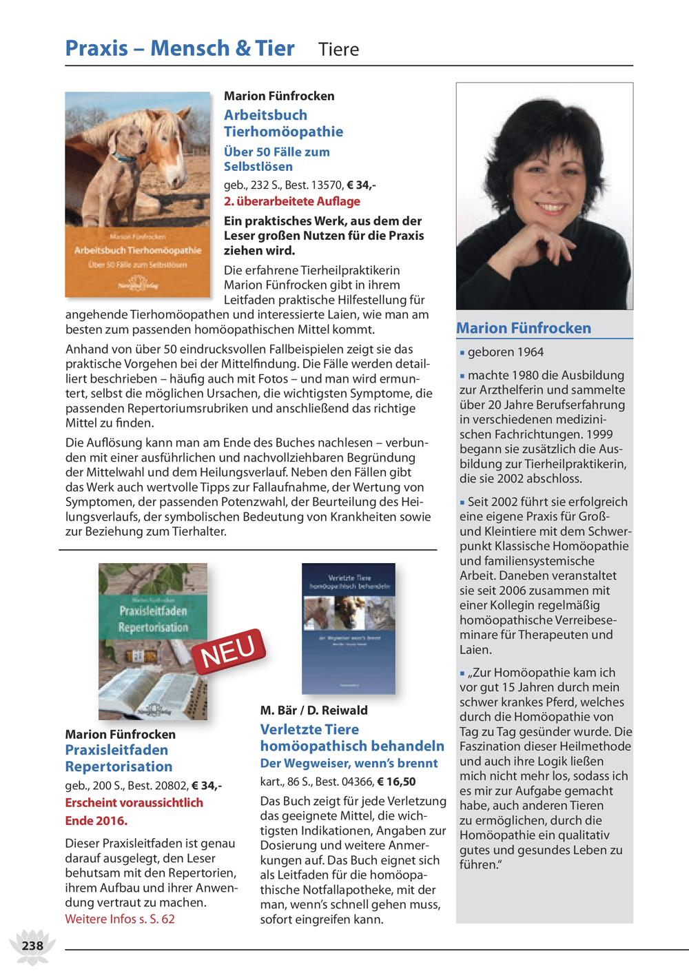 Katalog 2017 Narayana Verlag