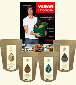 Vegan in Topform Produkte