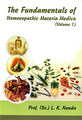 The Fundamentals of Homeopathic Materia Medica (Vol. -I)/L.K. Nanda