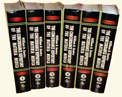 Concordance Repertory of the Materia Medica 6 Vol., William D. Gentry