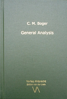 General Analysis, Cyrus Maxwell Boger