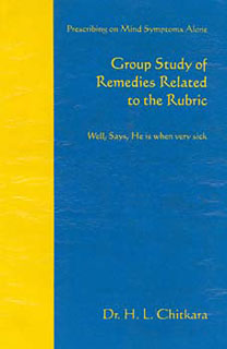 Group study of remedies related to the rubric, H. L. Chitkara