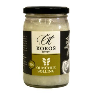 Kokosöl, nativ - Bio - 250 ml,