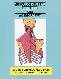 Musculoskeletal Diseases and Homeopathy, Luc De Schepper