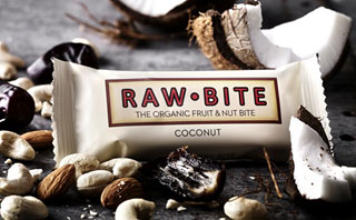 Raw Bite Rohkost Riegel Bio - Coconut - 50 g