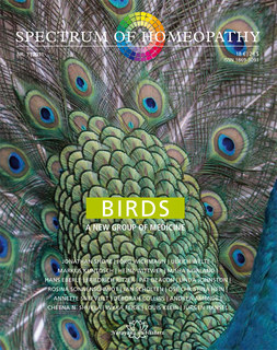 Spectrum of Homeopathy 2011-I, BIRDS - E-Book, Narayana Verlag