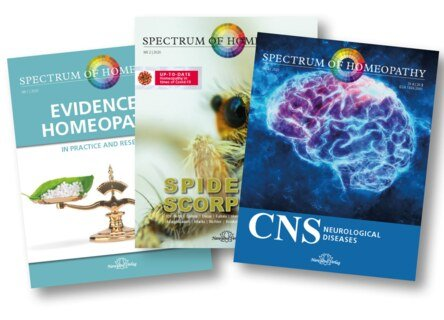 Spectrum of Homeopathy - Subscription 2020, Narayana Verlag