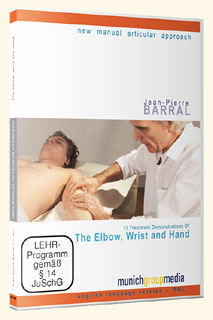 The Elbow, Wrist and Hand - DVD, Jean-Pierre Barral