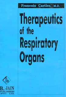 Therapeutics of the Respiratory Organs, Francois Cartier