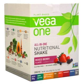 Vega One all-in-one Nutritional Shake - Mixed Berry, Beutel 10 x 42 g