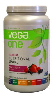 Vega One all-in-one Nutritional Shake - Mixed Berry, Dose 850 g