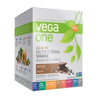 Vega One all-in-one Nutritional Shake - Mocha, Beutel 10 x 42 g