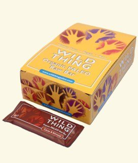 Wild Thing - Cacao & Almond Bio Riegel, Snack-Bar - 20 x 30 g