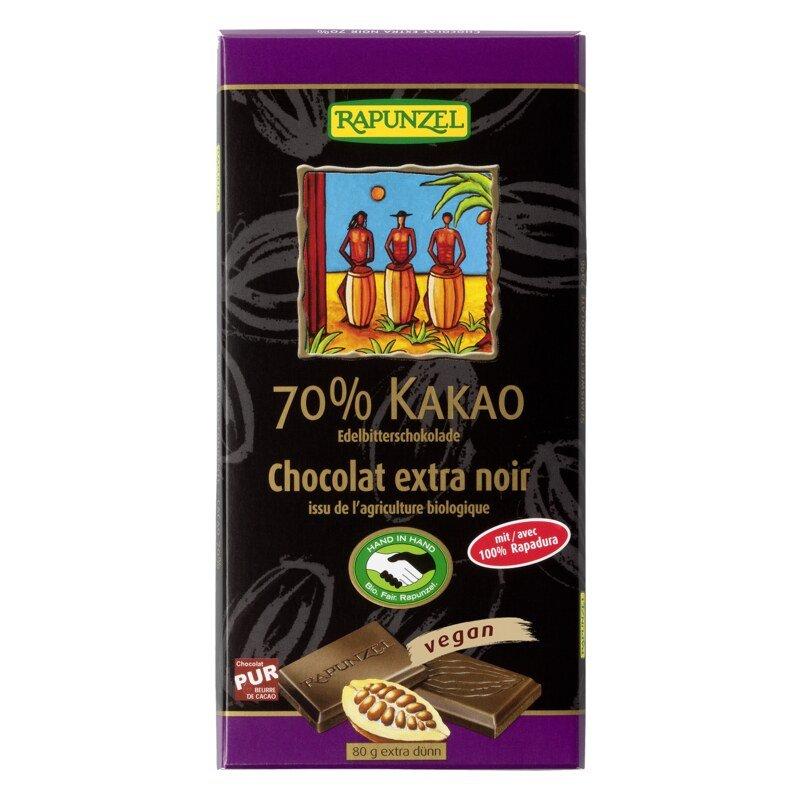 edelbitter schokolade 70 kakao rapadura schokoladen 80 g edelbitter schokolade 70 kakao. Black Bedroom Furniture Sets. Home Design Ideas