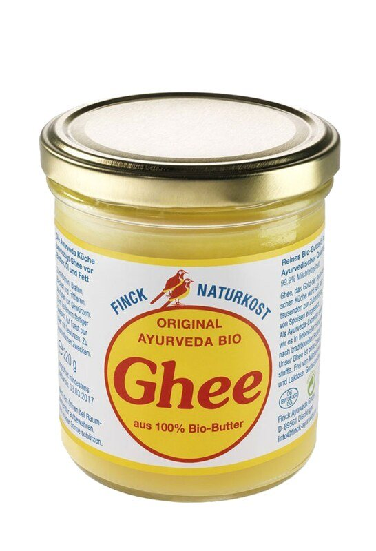 ghee bio ayurvedisches butterfett 220 g ghee bio. Black Bedroom Furniture Sets. Home Design Ideas