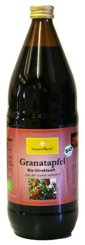 granatapfel saft bio 1 liter aus kontrolliert biologischem anbau narayana verlag. Black Bedroom Furniture Sets. Home Design Ideas