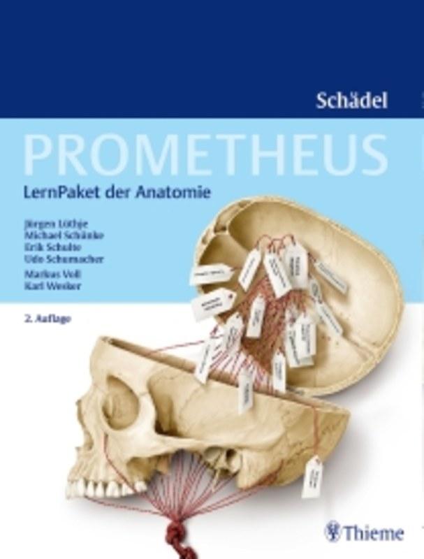 PROMETHEUS LernPaket Anatomie Schädel, Jürgen Lüthje / Erik Schulte ...