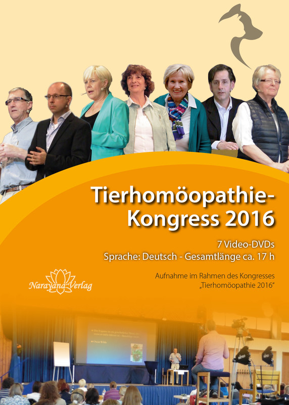 tierhomöopathie-kongress 2016 - dvd-set, peter gregory / sue
