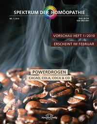 Powerdrogen Spektrum Homöopathie 012010jürgen Becker Das Blaue